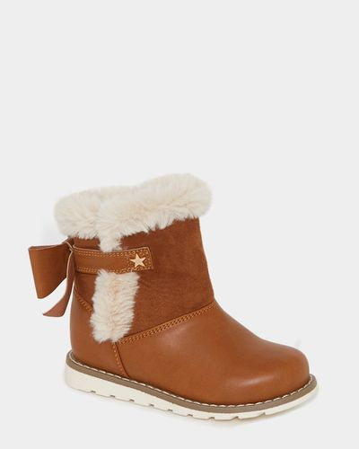 Baby Girls Faux Fur Boots