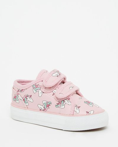 Baby Girls All Over Print Unicorn Shoes