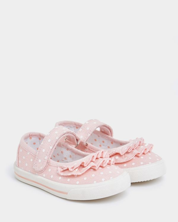 Baby Girls Canvas Mary Janes