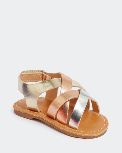 Baby Girls Strap Sandal (Size 4-8) thumbnail