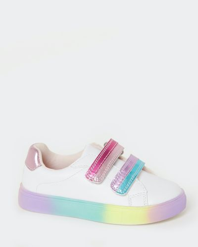 Baby Girls Rainbow Sole Shoes