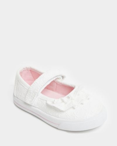 Baby Girls Mary Jane Canvas Shoes (Size 4-13)