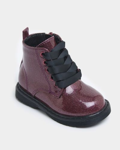 Baby Girls Lace Boot (Size 4 Infant - 8)