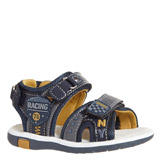 navy Baby Boys Sporty Sandals