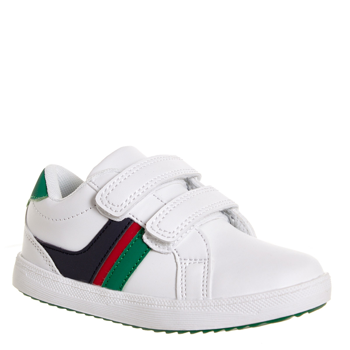 Dunnes Stores | White Baby Boys Strap Shoes