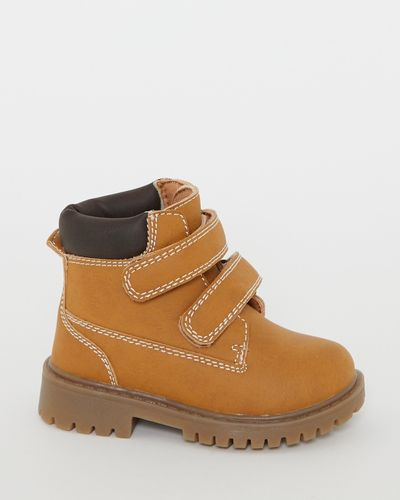 Baby Strap Worker Boots