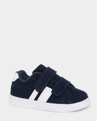 Baby Boys Mock Suede Strap Shoes