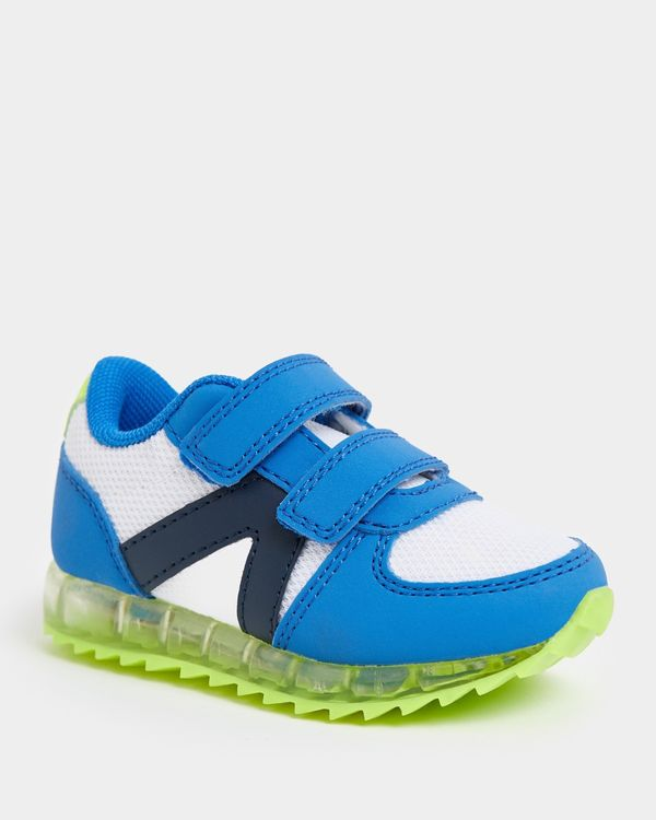 Baby Boys Light Up Trainer (Size 4-8)