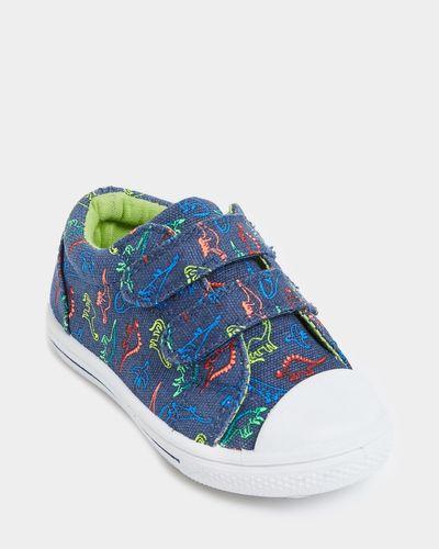 Baby Boys Printed Canvas Shoe