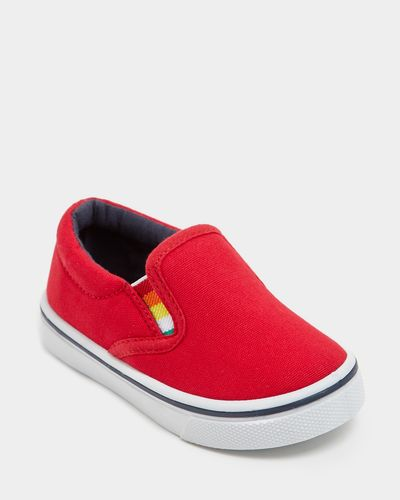 Baby Boys Slip-On Canvas Shoes