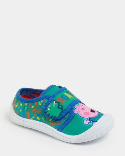 George Canvas Velcro Shoe (Size 4-9)