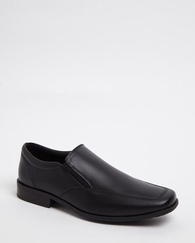 Leather Slip On Shoe