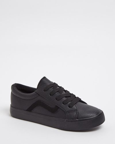 Back To School PU Lace Up Shoes