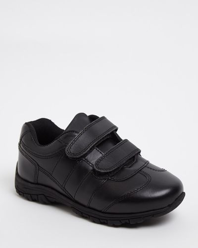 Back To School Strap Leather Shoes