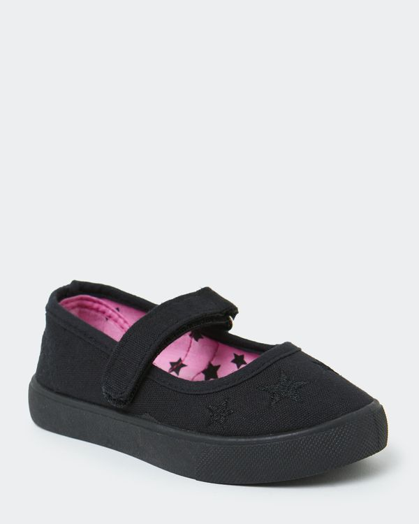 Back To School Canvas Mary Jane Shoes