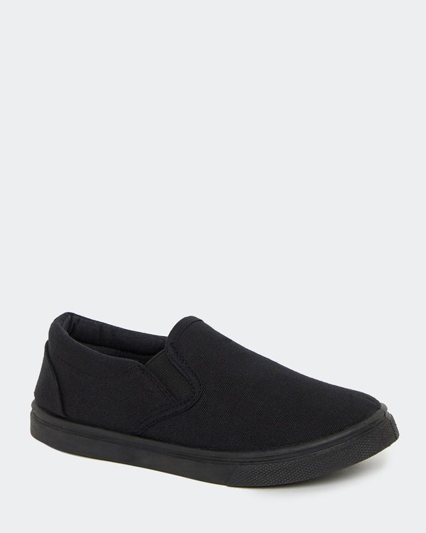Back To School Canvas Slip On Shoes