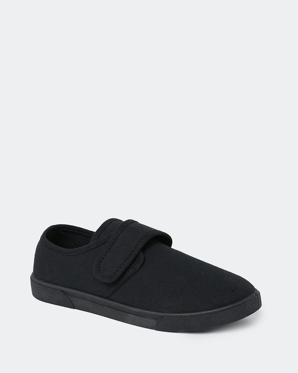 Back To School Canvas Velcro Shoe