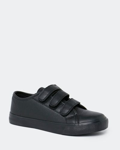 Back To School Velcro Toe Cap Shoes