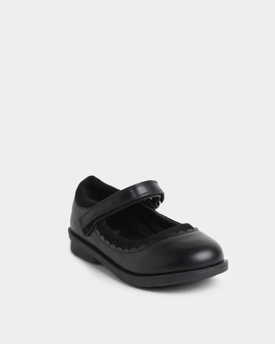 Back To School PU Mary Jane Shoes (Size 8-5) thumbnail