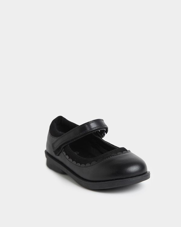 Back To School PU Mary Jane Shoes (Size 8-5)