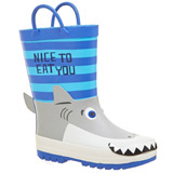blue Boys 3D Wellies