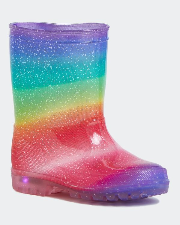 Girls Light Up Wellies