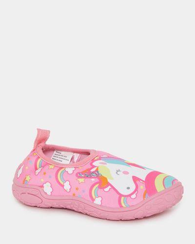 Baby Girls Aqua Socks