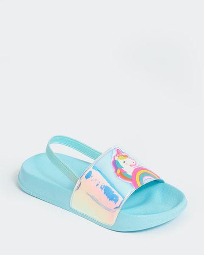 Younger Girls Fashion Slider (Size 6-13)