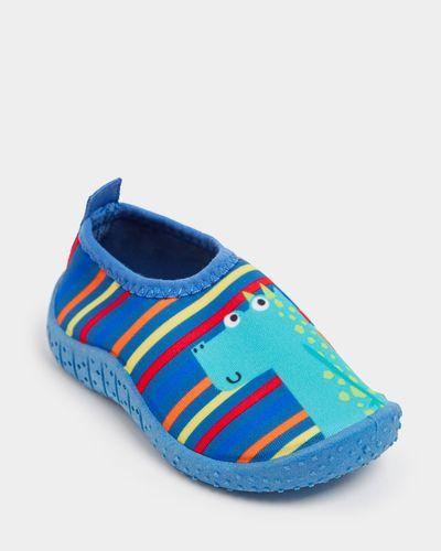 Baby Boys Aqua Shoe (Size 4-8)