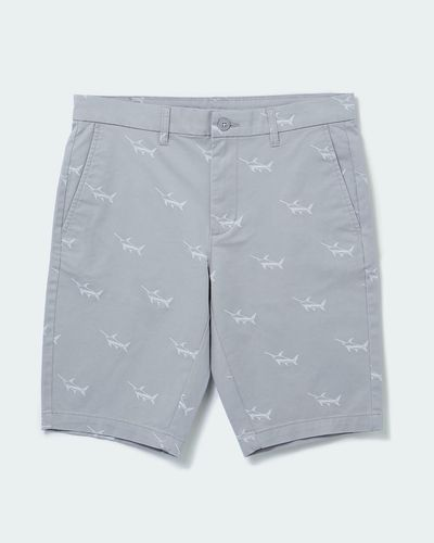 Slim Fit Printed Shorts thumbnail