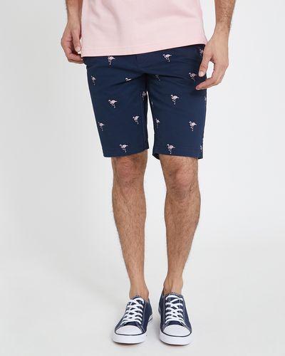 Slim Fit Printed Shorts