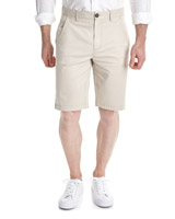 stone Regular Fit Chino Shorts With Stretch