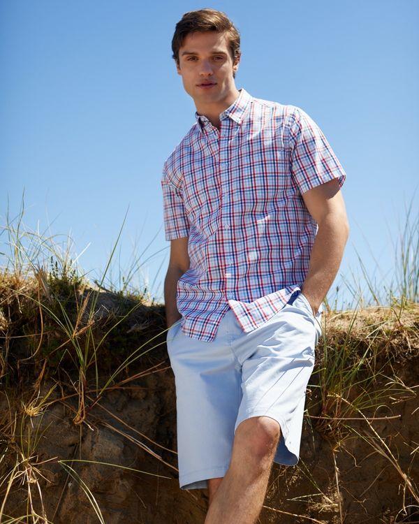 Regular Fit Stretch Chino Shorts