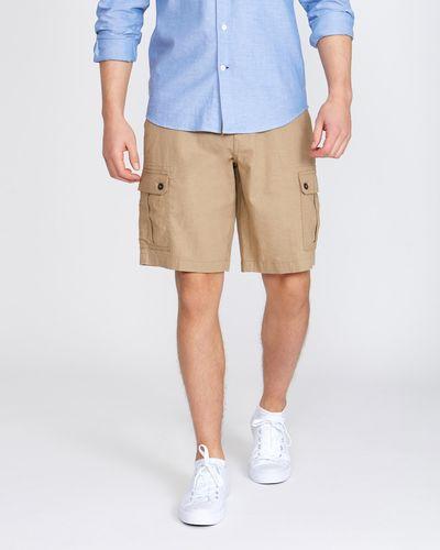 Cargo Linen Blend Shorts