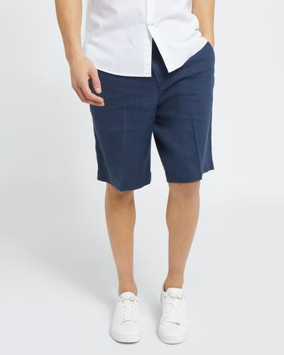 Regular Fit 100% Linen Short