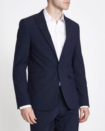 Navy Slim Jacket