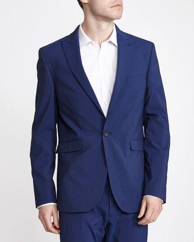 Blue Slim Jacket