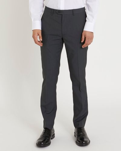 Charcoal Slim Trouser