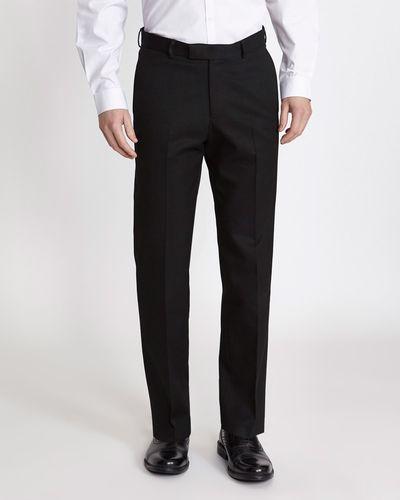 Regular Fit Teflon Trousers