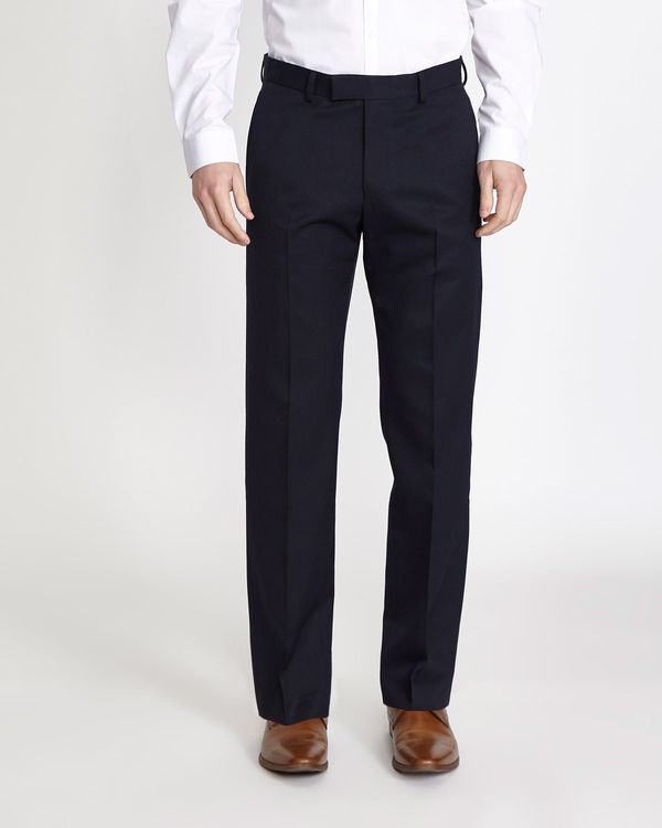 Regular Fit Teflon Trousers