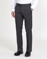 grey School Stretch Trousers