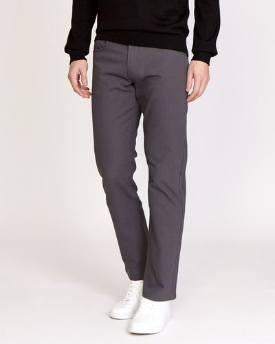 Straight Fit Canvas Bedford Five Pocket Jeans