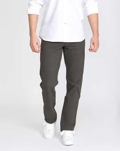 Straight Fit Canvas Bedford Five Pocket Jeans thumbnail