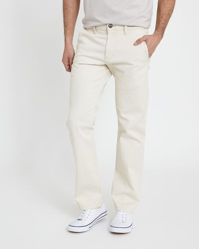 Five Pocket Stretch Twill Trousers