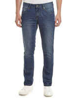 blue Slim Fit Denim Jeans
