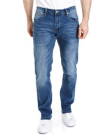 blue Straight Fit Fashion Jeans