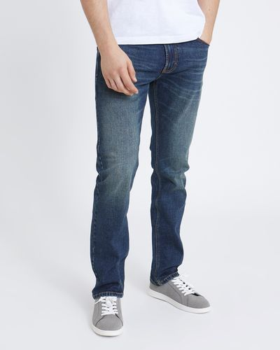 Straight Leg Jeans With Belt