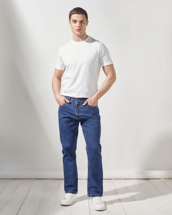 Regular Fit Basic Denim Jeans