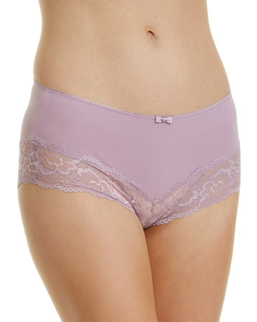 lavender Lace Midi Briefs