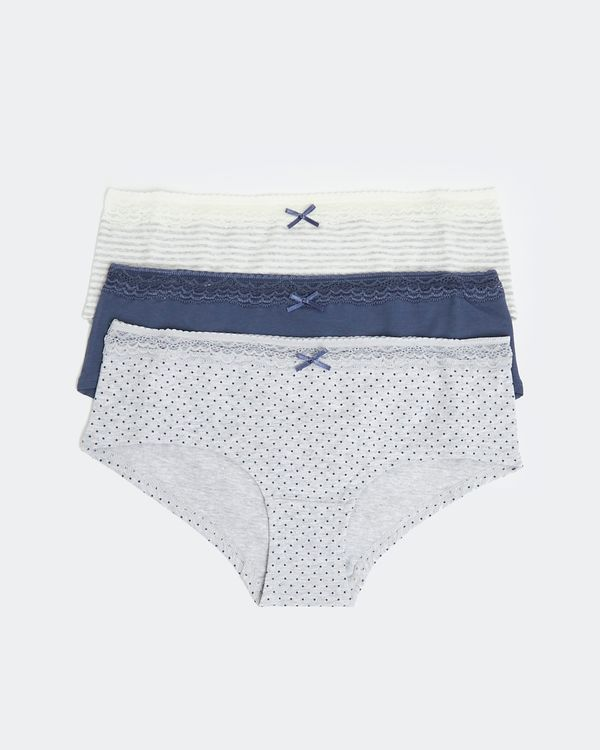 Cotton Shorts - Pack Of 3